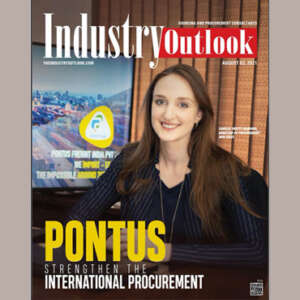 """Pontus Freight India Pvt Ltd awarded as one of the one of the """" Top 10 – Sourcing and Procurement consultants 2021"""" by Industry Outlook magazine."""